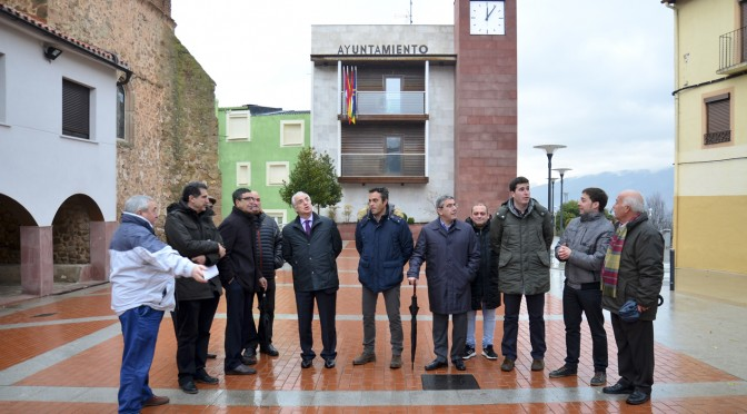 Visita de José Ignacio Ceniceros a Sorzano